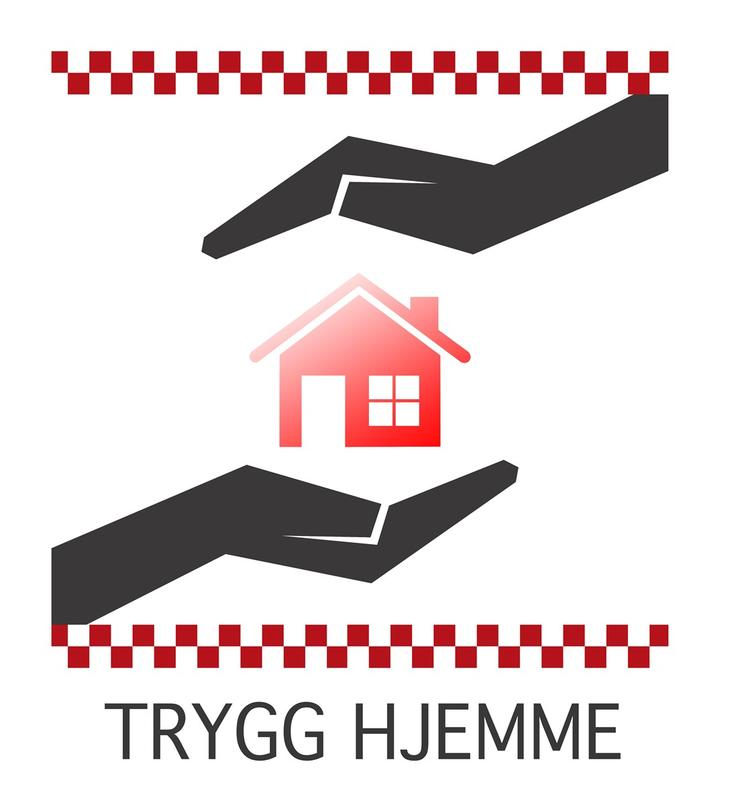 Trygg hjemme logo